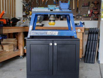 DIY Rolling Benchtop Tool Cabinet