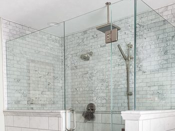How to keep shower glass clean