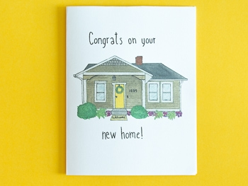 Housewarming card free printable download