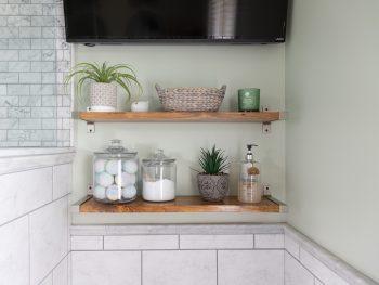 IKEA GRANHULT Hack - Wood Shelf
