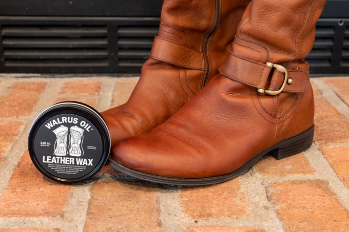 Walrus Oil leather wax review