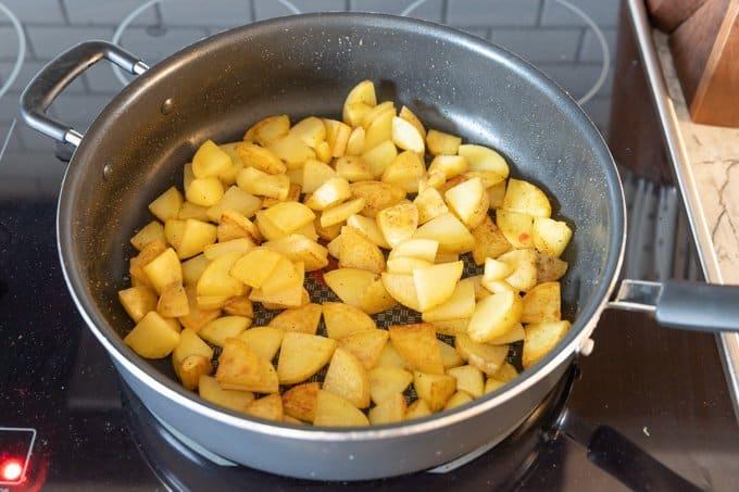One pan breakfast skillet recipe 3