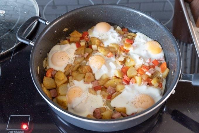 One pan breakfast skillet recipe 6