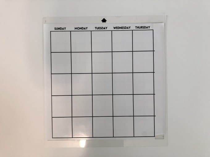 DIY Acrylic wall calendar with svg file 4