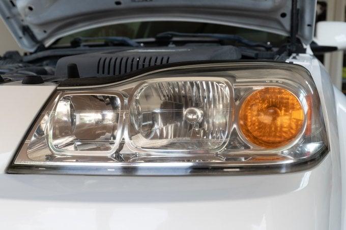 DIY headlight restoration after 1