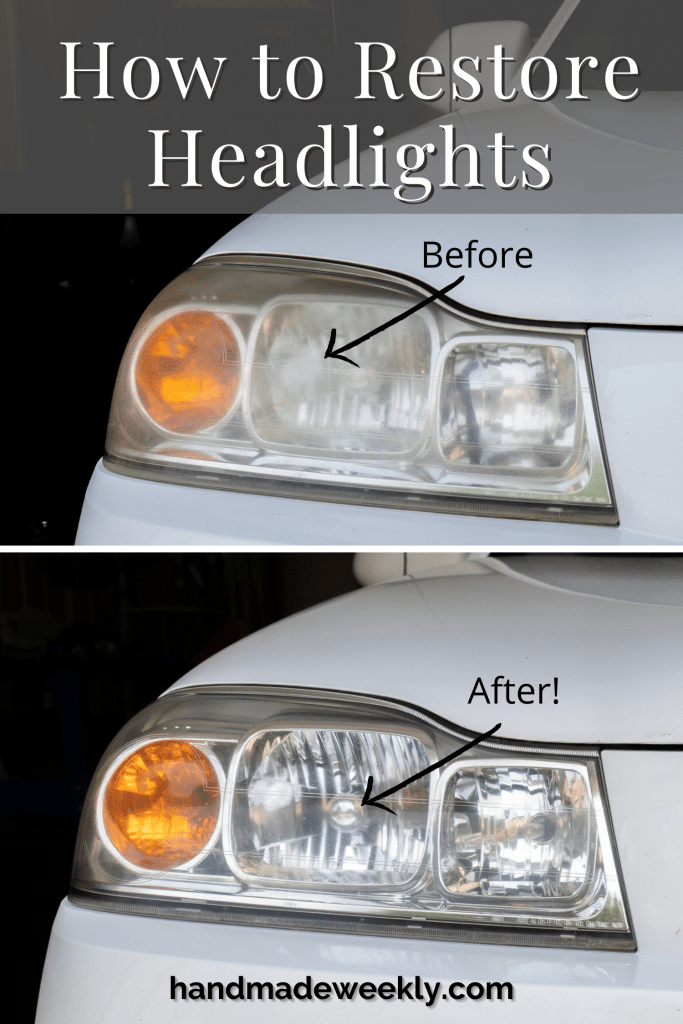 How to restore headlights DIY project