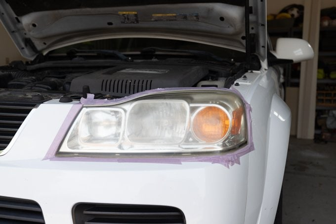 How to restore headlights - Step 2