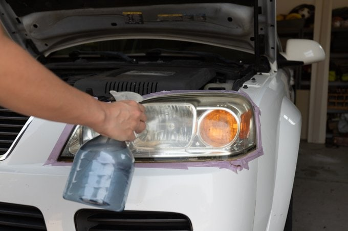 How to restore headlights - Step 3.2