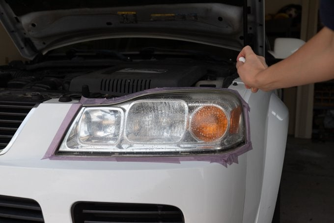 How to restore headlights - Step 6