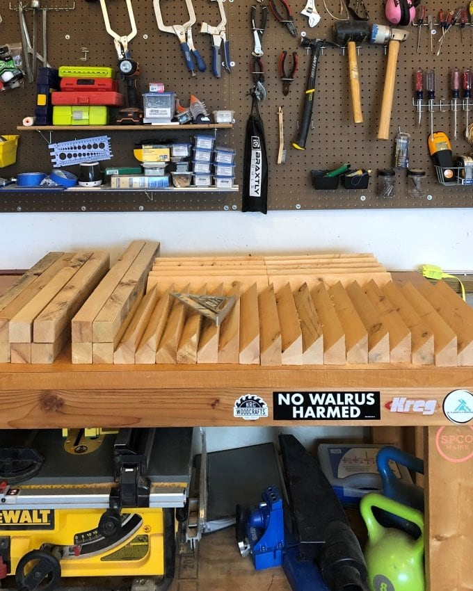 DIY Cedar planter bench 3