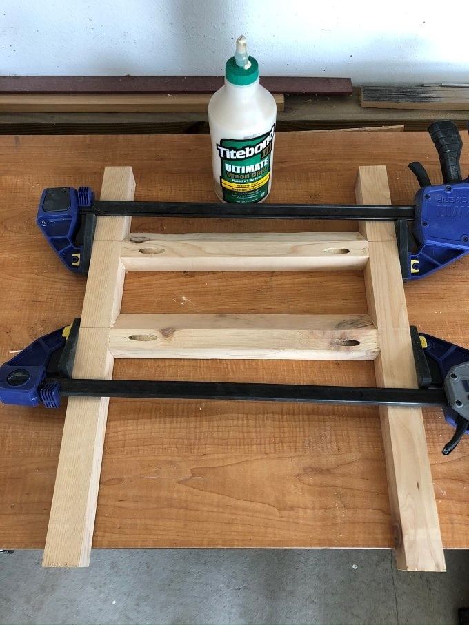 DIY Cedar planter bench 7