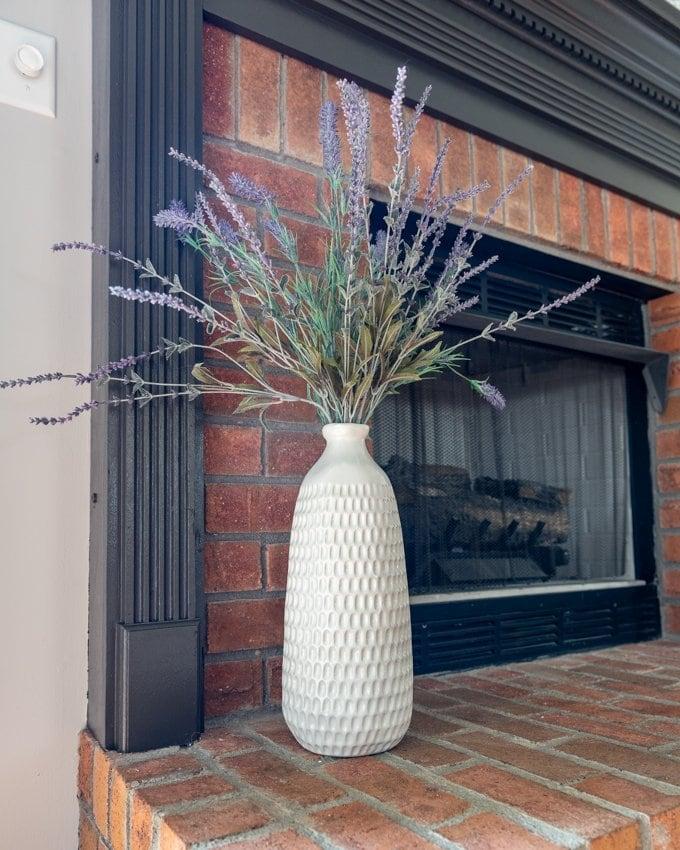 Fireplace mantle decor 4