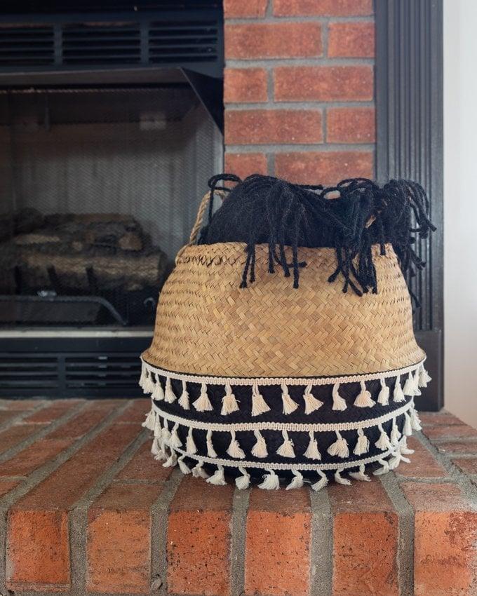 Fireplace mantle decor 5